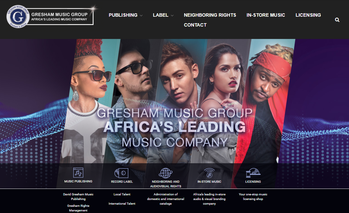 David Gresham Music (DGM) is one of the largest publishing companies on the African continent. With over 5 million songs administered, the publishing company represents many of the biggest songwriters…